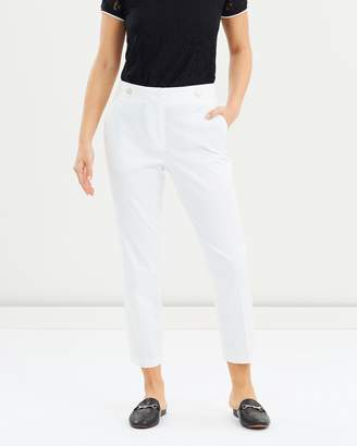 Dorothy Perkins Sateen Cropped Trousers