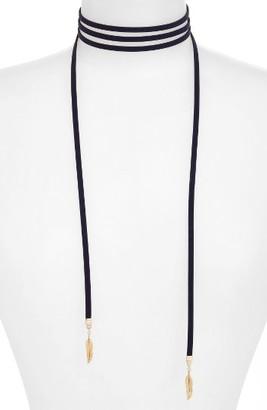 Women's Jules Smith Kale Wrap Choker Necklace $40 thestylecure.com