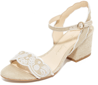 Isa Tapia Luisa City Sandals $495 thestylecure.com