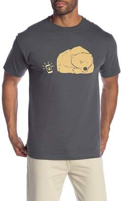 Altru Snooze Bear Crew Neck Tee