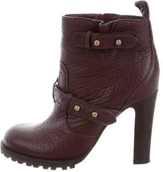 Tory BurchTory Burch Round-Toe Ankle Boots