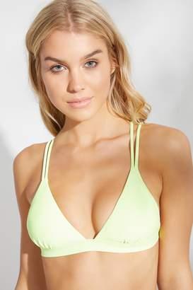 Ardene Neon Triangle Bikini Top