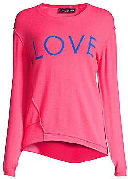 Generation Love Women's Abigail Love Cashmere Sweater