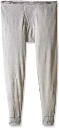 Fruit of the Loom Men's Classics Midweight Waffle Thermal Bottom