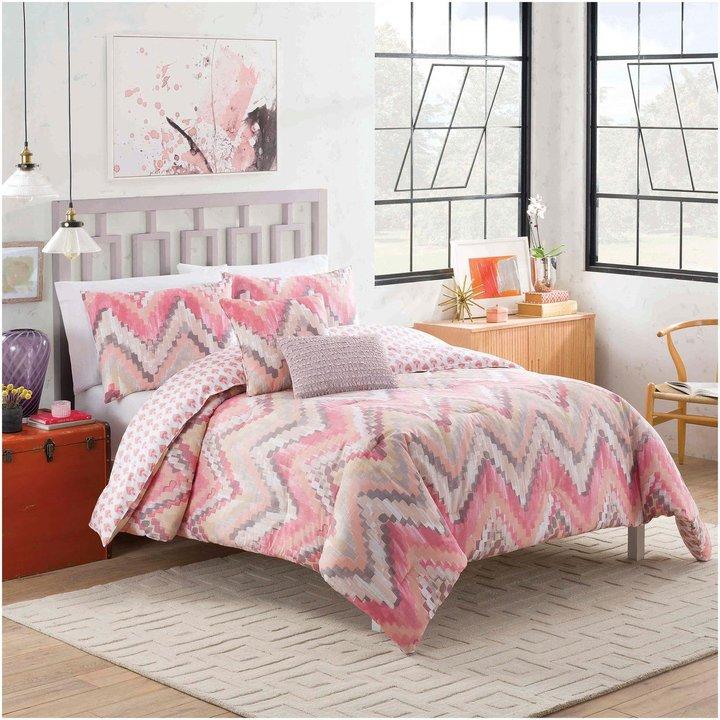Blissliving HomeBlissliving Home Vue Masie Reversible Comforter Set - Twin XL - 4 pc