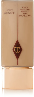 Charlotte Tilbury - Light Wonder Youth-boosting Foundation – Medium 5, 40ml - Sand $45 thestylecure.com