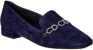 Christian Dior Embellished Suede Slipper