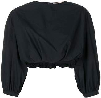 Brock Collection cropped billowing blouse