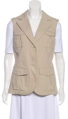 Lafayette 148 Lightweight Button-Up Vest