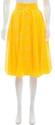 Samantha Sung Printed Knee-Length Skirt w/ Tags