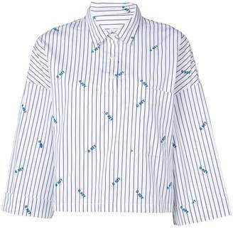 Kule The Keaton embroidered shirt