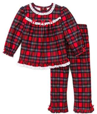 at amazon canada a little me girls christmas pajamas infant or toddler pant set