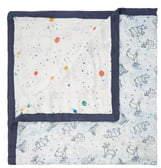 Aden Anais (エイデン アネイ) - aden + anais White Label Silky Soft Watercolor Garden Dream Blanket
