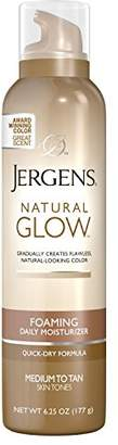 Jergens Natural Glow Foaming Daily Moisturizer for Body