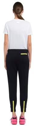 Prada Technical Cotton Fleece Trousers