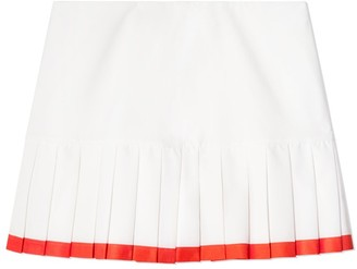 Tory Sport Tory SportTory Burch TWO-TONE PLEATED-HEM TENNIS SKIRT