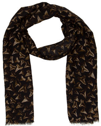 Paul Smith Wool Scarf $65 thestylecure.com