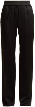 Haider Ackermann Kuiper wide-leg satin trousers