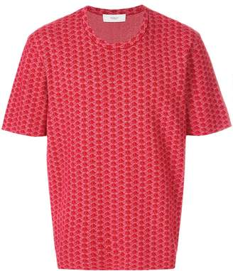 Pringle jacquard knitted T-shirt