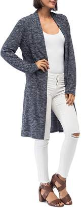 Bobeau B Collection by Jay Marled Open-Front Duster