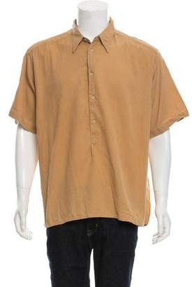 Giorgio Armani Button-Up Polo Shirt