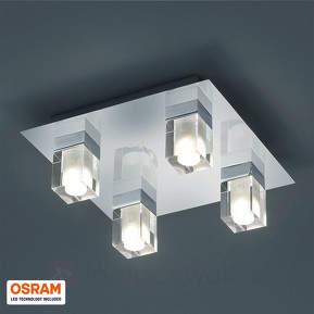Für Feuchträume - LED Deckenleuchte Ira IP44