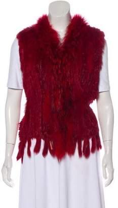 FRR Canada Fur Open Front Vest