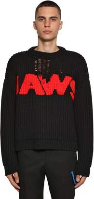 Calvin Klein Jacquard Knit Sweater