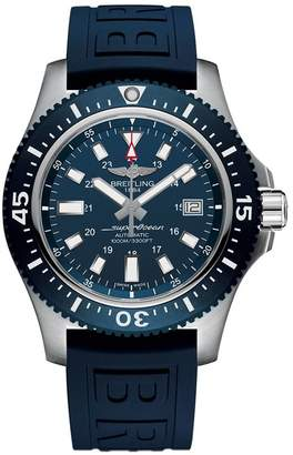 Breitling Stainless Steel Superocean Watch 44mm