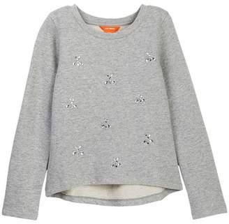 Joe Fresh Melange Pullover Sweatshirt (Big Girls)