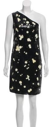 Michael Kors Silk Sequin Dress