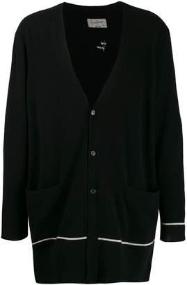 Yohji Yamamoto oversized cashmere cardigan