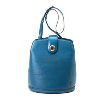 Louis Vuitton Cluny Shoulder Epi Toledo Blue