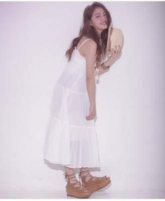Broderie&Co (ブロードゥリー&コー) - Broderie&Co 2wayマキシSK ナノユニバース スカート