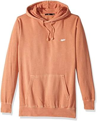 Obey Men's Jumble Lo-Fi Hooded Fleece Sweatshirt