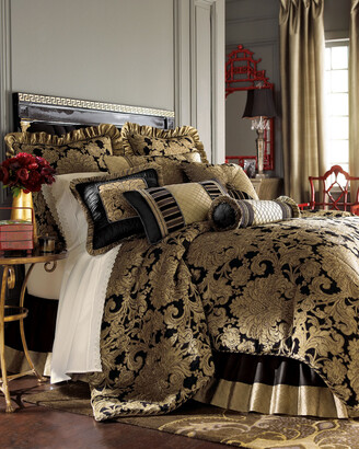 Austin Horn Classics Sienna Pieced Oblong Pillow with Cording