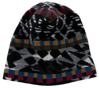 Missoni Wool Abstract Beanie