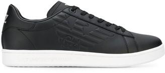 Emporio Armani Ea7 logo low-top sneakers