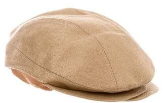 Eugenia Kim Herringbone Newsboy Hat