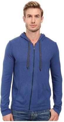 Lucky Brand Black Label Full Zip Hood Men's Clothing