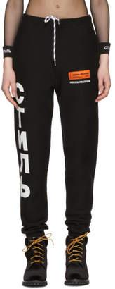 Heron Preston Black Style Slim Sweatpants