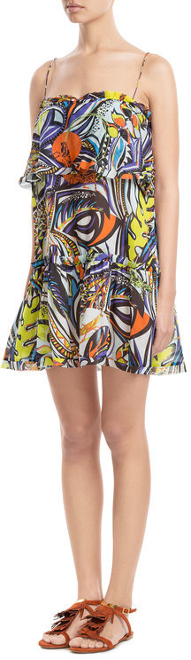 Emilio Pucci Emilio Pucci Printed Cotton Dress