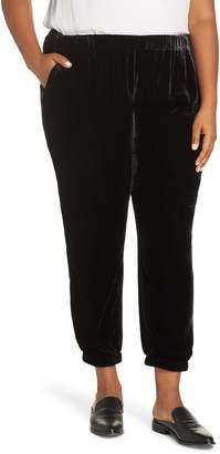 Eileen Fisher Velvet Ankle Pants