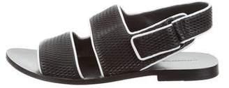 Alexander Wang Woven Leather Sandals