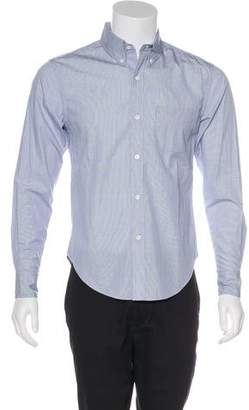 Band Of Outsiders Patterned Button-Up Shirt