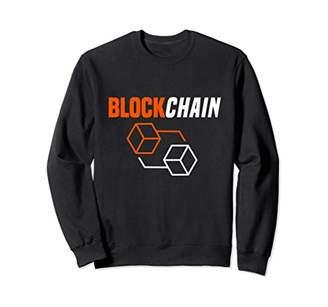 Blockchain Market Bitcoin Crypto Sweat Shirt
