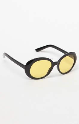 Pacsun Buggy Yellow Lens Sunglasses