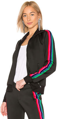 Pam & Gela Track Jacket With Rainbow Stripes