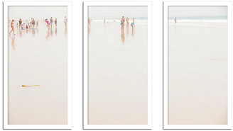 One Kings Lane Pink Suit Triptych Photograph Art