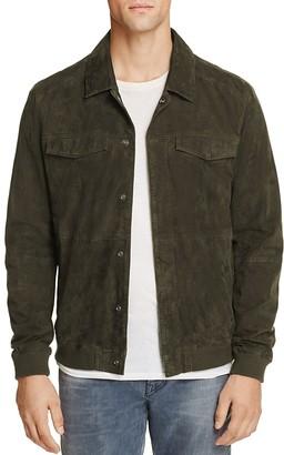 Scotch & Soda Suede Shirt Jacket $495 thestylecure.com